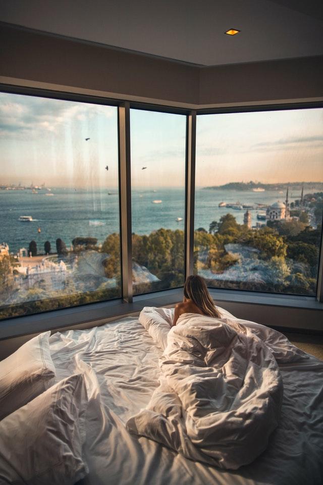 wietrzenie przed snem