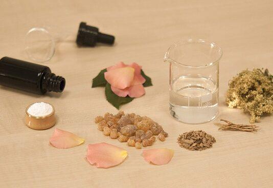 kosmetyki z naturalnymi olejkami